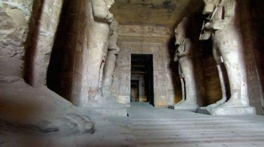 chrám Abu Simbel