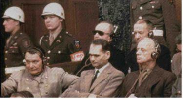 Hermann Göring, Rudolf Hess a Joachim von Ribbentrop