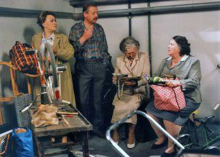 Jiřina Bohdalová, Oldřich Vlach, Věra Tichánková a Blažena Holišová