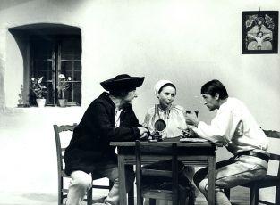 Alojz Kramár, Emília Vašáryová a Michal Dočolomanský