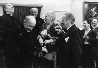 František Filipovský, Jan Vostrčil, Jiřina Šejbalová, Bohuš Záhorský a Marcela Martínková