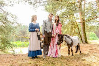 Princ Modřej a víla Lupinka (2016) [TV film]