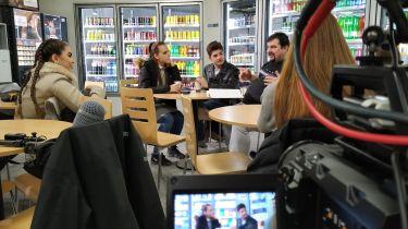 Foto z natáčení