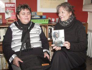 křest DVD: Marcela Haverlandová a  Helena Třeštíková