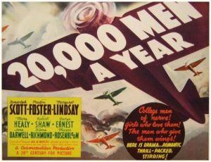 20,000 Men a Year (1939)