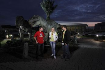 Snídaně s Novou na cestách z unikátního Dinoparku v Praze - 23.9.2011 Tomáš Krejčíř, Zora Kepková