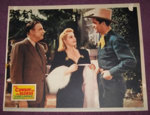 Cowboy and Blonde (1941)