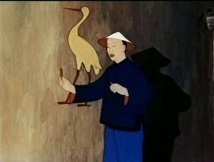 Žlutý čáp (1950)