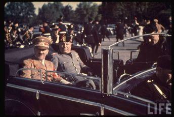 Adolf Hitler, Benito Mussolini