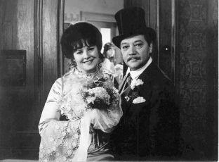 Blažena Holišová a Rudolf Hrušínský