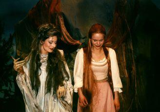 Vilma Cibulková a Sabina Králová