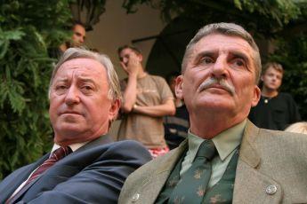 Jiří Lábus a  Martin Huba