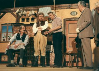 Jaroslav Weigel, Jan Kašpar, Ladislav Smoljak a Jaroslav Vozáb