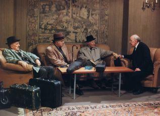 Miloš Nedbal, Ota Sklenčka, Ladislav Pešek a František Filipovský