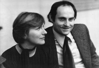 Halina Labonarská a  Tadeusz Huk