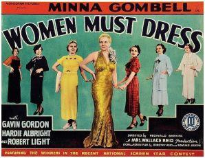 Women Must Dress (1935)