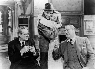 Lionel Barrymore,  James Stewart,  Jean Arthur,  Mischa Auer