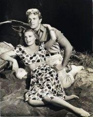 s první manželkou herečkou Madeleine Carroll