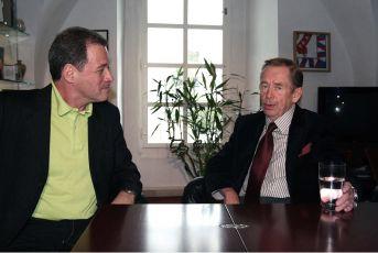 Milan Hein a  Václav Havel