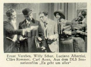 Jde o všechno (1932)