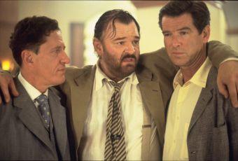 Geoffrey Rush, Brendan Gleeson a Pierce Brosnan