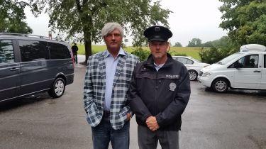 Zdroj: osobní archiv Z. Hozáka / z natáčení seriálu Inspektor Max