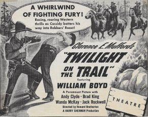 Twilight on the Trail (1941)