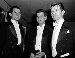 Edward Kennedy,  John F. Kennedy a  Robert F. Kennedy