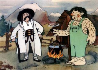 Sněžný muž Hugo (1987) [TV seriál]