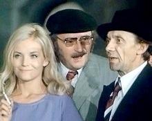 Gabriela Vránová,  Jiří Sovák a  Josef Kemr