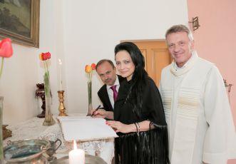 Lucie Bila s bratrem a Zbigniewem Czendlikem