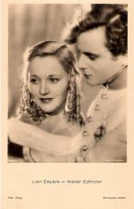 Německá pohlednice - Ross Verlag, no. 6533/1, 1931-1932. Foto: Siegel-Monopolfilm.