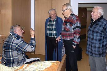 Karel Urbánek, Antonín Hardt, Vladimír Brabec a Karel Richter
