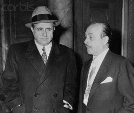 Albert Anastasia a jeho právnik Anthony Calandra