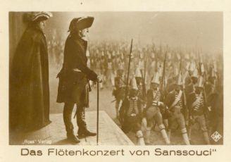 Flétnový koncert v Sanssouci (1930)