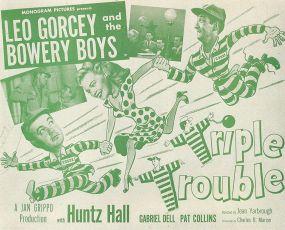 Triple Trouble (1950)
