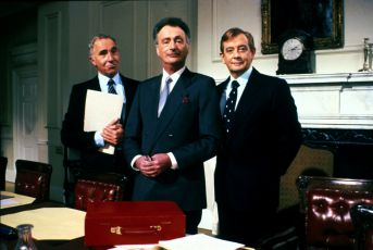 Paul Eddington, Nigel Hawthorne a Derek Fowlds