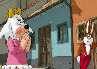 Fifi s Piňďou ve Zlaté uličce