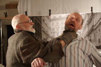 z natáčení Jan Švankmajer, Václav Helšus