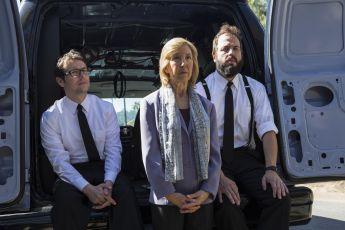 Angus Sampson, Lin Shaye a Leigh Whannell