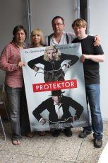 představení plakátu v Karlových Varech Aleš Najbrt Jana Plodková Marek Najbrt Marek Daniel