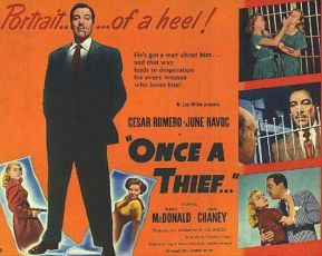 Once a Thief (1950)