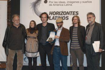 Karl Baumgartner (3),  Ingrid Rubio,  Serge Catoire, César Troncoso,Iván Trujillo,  Enrique Fernández César Charlone