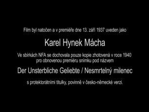 Karel Hynek Mácha (1937)