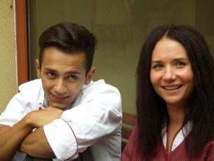 Jan Bendig a Sandra Nováková