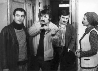 Jan Tříska, Pavel Landovský, Julius Pántik a Želmíra Kačková