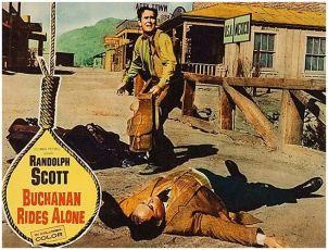 Osamělý jezdec Buchanan (1958)