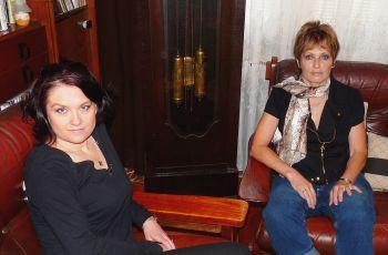 Šárka Volemanová a Olga Matušková