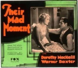 Their Mad Moment (1931)