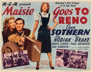 Maisie Goes to Reno (1944)